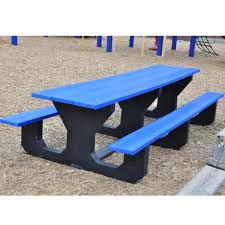 recycled plastic picnic tables recycled plastic kids picnic table size 221