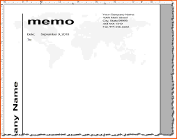 memo format microsoft word mutual agreement contract template