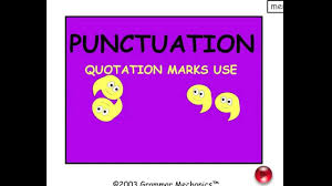 quote within a quote grammar quotation marks punctuation easy english grammar youtube