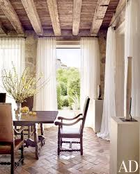 italian home interiors interior design brick flooring wood ceilings italian style