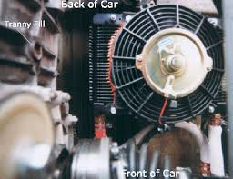 oil cooler with fan pelican technical article 914 external oil cooler install