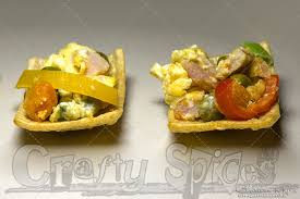 what does canape crafty spices scramble canapé recipe