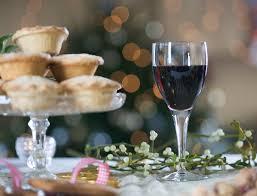 Christmas Wine Traditional British Christmas Drinks