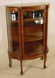 Oak Curio Cabinets Curio Cabinet Small Oak Curiobinet Awful Photos Design