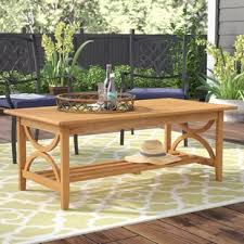 Patio Coffee Tables Outdoor Coffee Tables You Ll Wayfair