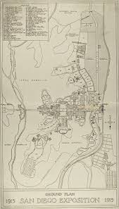 Map Of Balboa Park San Diego by Panama U2013california Exposition Wikiwand