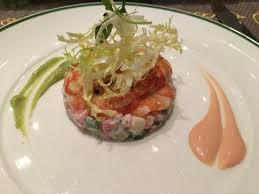 cuisine asperge tartare d asperge verte aux crevettes shrimps on asparagus and