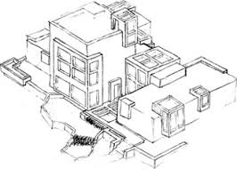 Floor Plan And Perspective House Plans