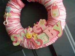 Welcome Baby Home Decorations 73 Best Baby Wreath Images On Pinterest Baby Wreaths Diaper