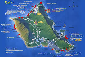 Hawaii On The Map Image Gallery Hawaii On Usa Map