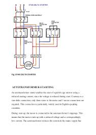 switchgear and protection starting of 3 phase induction motor