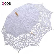 parapluie mariage mode soleil dentelle parapluie parasol broderie mariée parapluie