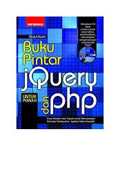 membuat web interaktif buku pintar jquery dan php pdf download available