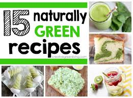 15 naturally green recipes for st patrick u0027s day creative green