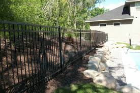 ornamental flat top northland fence