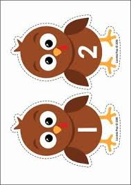 thanksgiving turkey numbers center activity worksheet free