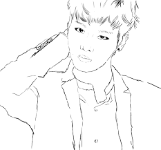 Vixx Kpop Coloring Pages Sketch Coloring Page Coloring Pages Kpop