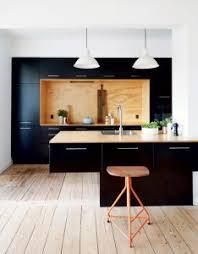 cuisine noir bois cuisine la nouvelle tendance deco clemaroundthecorner