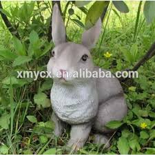 animal rabbit sculpture garden statue ornaments buy rabbit