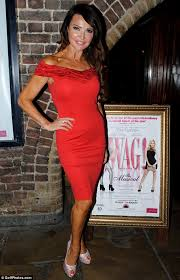 lizzie cundy leads the pack in figure hugging dresses at vip night