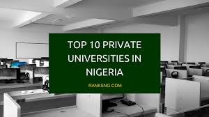 10 private universities in nigeria u2014 ranks ng