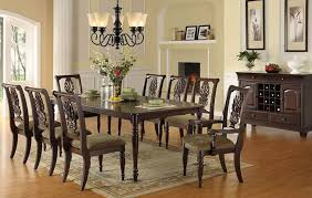 Classic Dining Room F2162 Classic Dining Room In Brown By Poundex