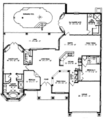 9 house plans with swimming pools layout pool plush nice home zone