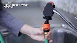 8583 koala indoor faucet adapter us youtube