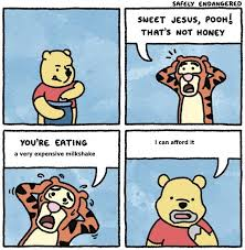 Milkshake Meme - sweet jesus pooh very expensive milkshake know your meme