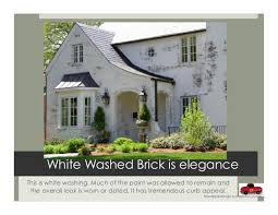 Painting Brick Exterior House - white washed brick german smearing lime washing and painted brick