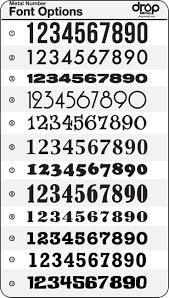 best 10 number tattoo fonts ideas on pinterest alphabet code