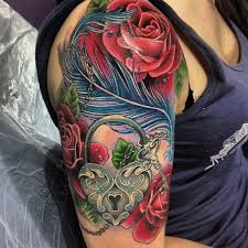 colorful half sleeve idea creativefan