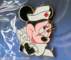 disney pins journey present nurse minnie mouse le