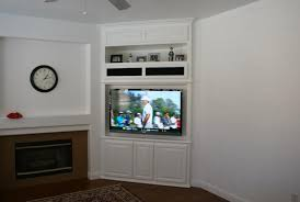 wall units astonishing custom built in tv cabinets captivating