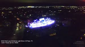 El Paso Christmas Lights by 2015 Fred Loya Christmas Light Show In El Paso Tx Youtube