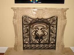 black fireplace doors binhminh decoration