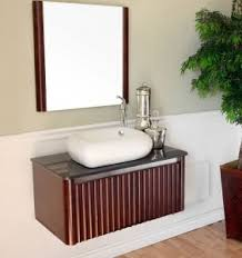 unique stylish wall mounted bathroom vanities for a bathroom with