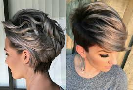 very short highlighted hairstyles vivacious short pixie haircuts with highlights hairdrome com