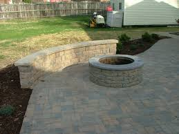 Small Paver Patio by Paver Patio With Built In Fireplace In Stafford Virginia