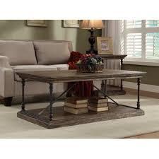 industrial coffee tables you u0027ll love wayfair