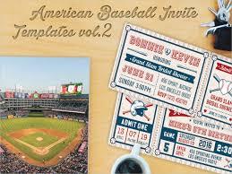 9 baseball party invitation design template sample example