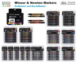 winsor u0026 newton promarker and brushmarker alcohol markers drawing