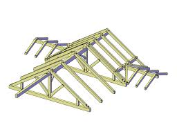 a frame roof design june raising private residence timber frame case study