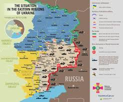 Syria On A Map by Russia May Respond To Us Strike On Syria By Escalating War In