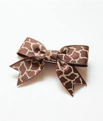 patterned ribbon patterned ribbon bow hair clip bambino headbands