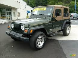 97 jeep wrangler se best rock color silver black granite mojave rhino jeep