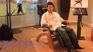 Novus Zero Gravity Recliner Human Touch Best Zero Gravity Chair Recliner Review Youtube