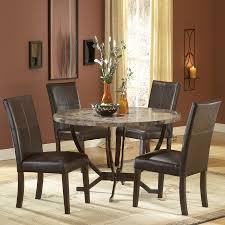small espresso dining table shop hillsdale furniture monaco matte espresso dining set with round