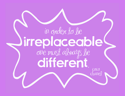 be irreplaceable printable