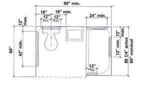 bathroom dimensions interior design